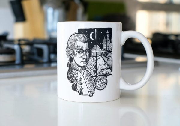 Mozart - Cool Classics - Hrnček