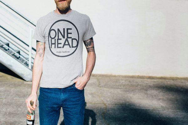 ONE HEAD : music festival - Tričko
