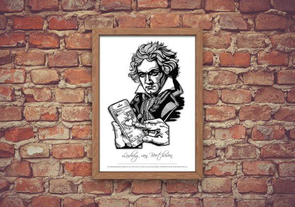 Beethoven Plagát A2